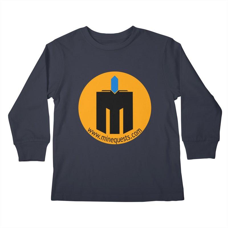 MQ - Website Kids Longsleeve T-Shirt by minequests's Artist Shop