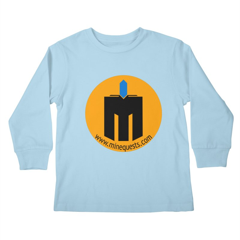 MQ - Website Kids Longsleeve T-Shirt by minequests's Artist Shop