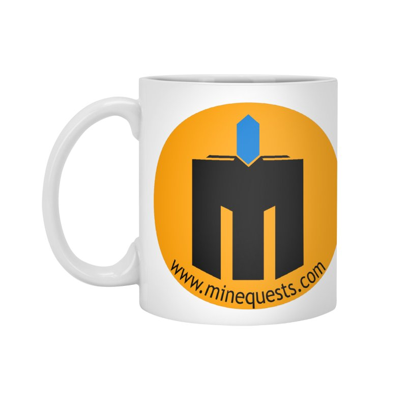 MQ - Website Accessories Standard Mug by minequests's Artist Shop