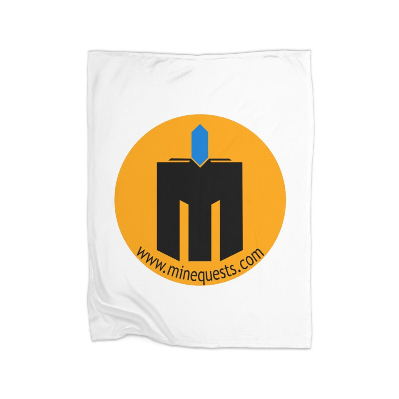 MQ - Website Home Blanket by minequests's Artist Shop