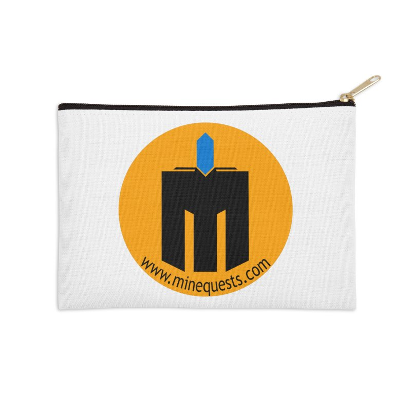 MQ - Website Accessories Zip Pouch by minequests's Artist Shop