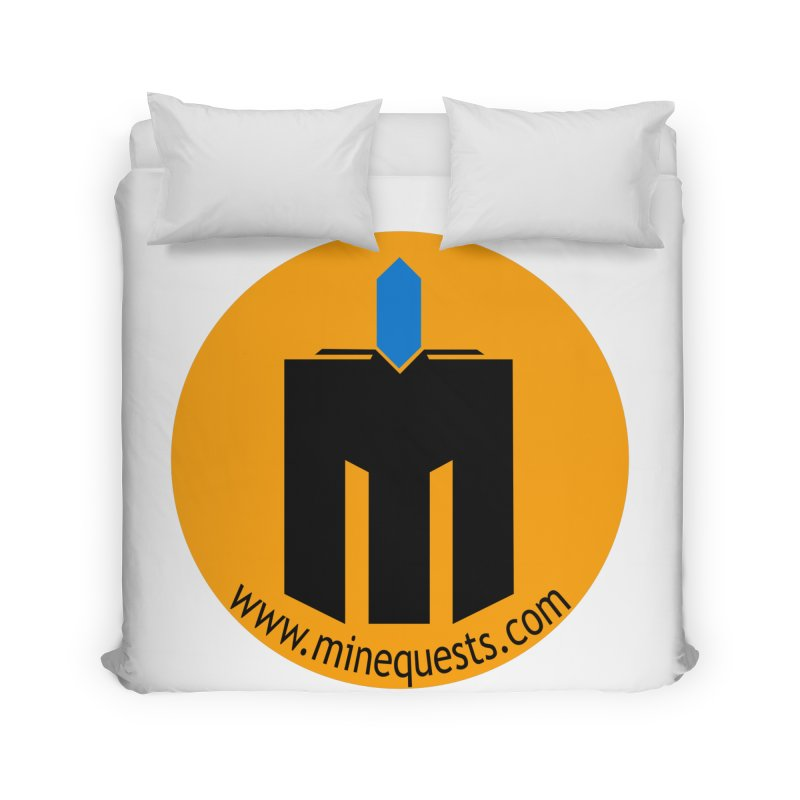 MQ - Website Home Duvet by minequests's Artist Shop