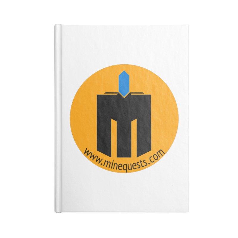 MQ - Website Accessories Notebook by minequests's Artist Shop