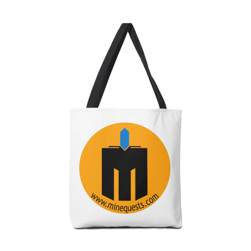 MQ - Website Accessories Bag by minequests's Artist Shop