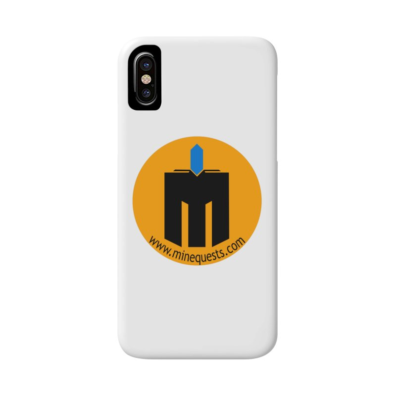 MQ - Website Accessories Phone Case by minequests's Artist Shop