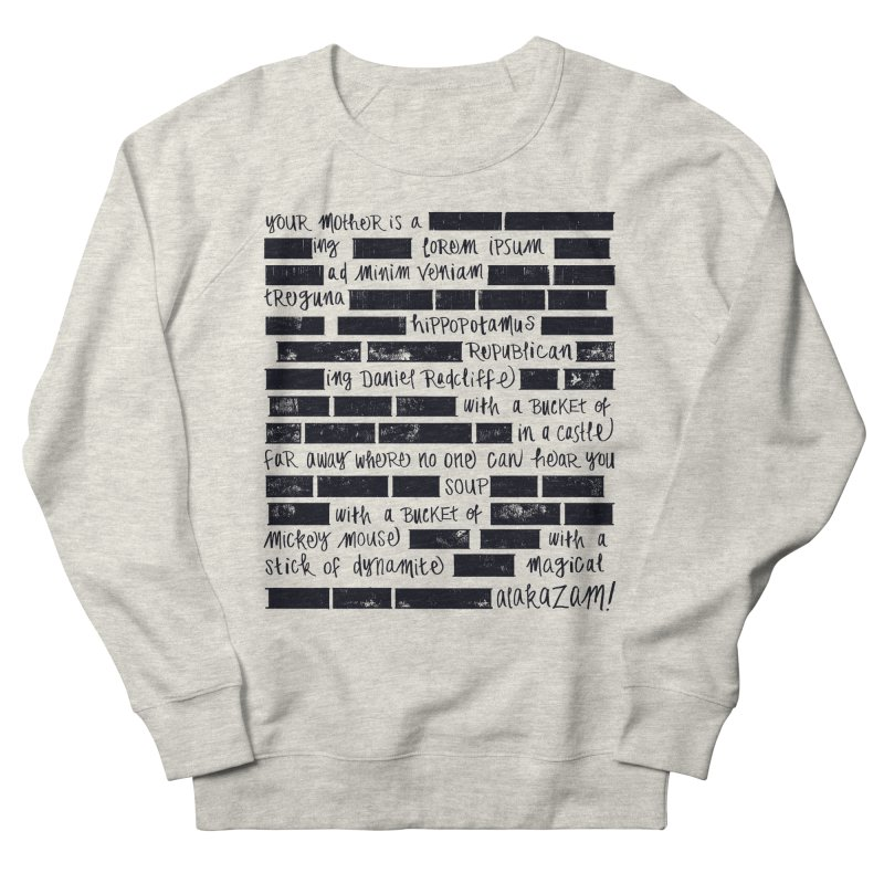 The Elder Swear Men's French Terry Sweatshirt by Ming Doyle