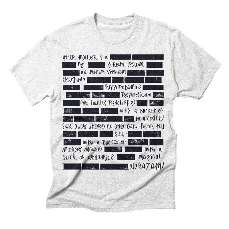 The Elder Swear Men's Triblend T-shirt by Ming Doyle
