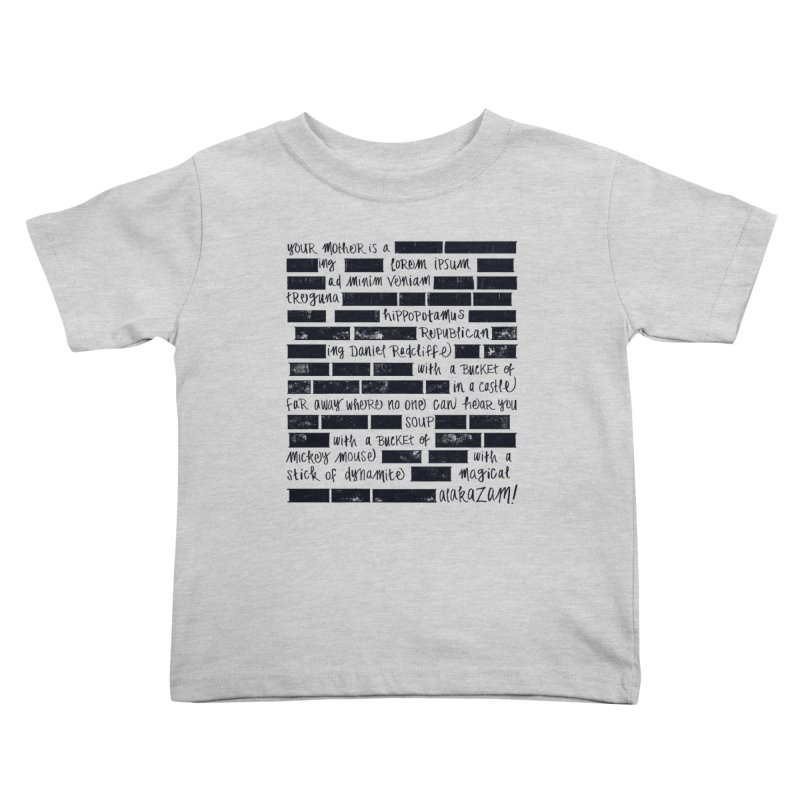 The Elder Swear Kids Toddler T-Shirt by Ming Doyle