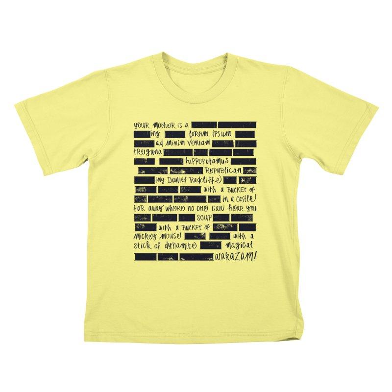 The Elder Swear Kids T-shirt by Ming Doyle