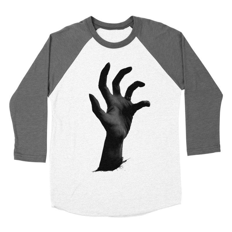 Crone Hand Women's Baseball Triblend T-Shirt by Ming Doyle