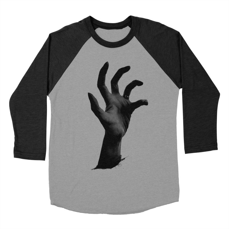 Crone Hand Women's Baseball Triblend T-Shirt by Ming Doyle