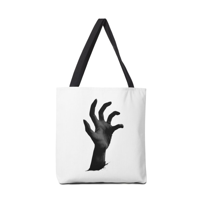 Crone Hand Accessories Tote Bag Bag by Ming Doyle