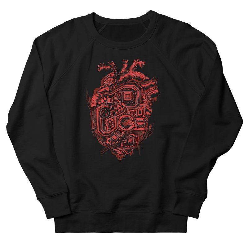 Heartboard Men's French Terry Sweatshirt by Ming Doyle