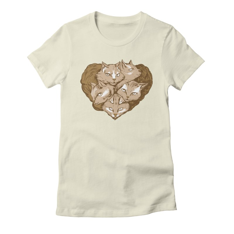 RETIRING!! Love Snubs Women's Fitted T-Shirt by Ming Doyle