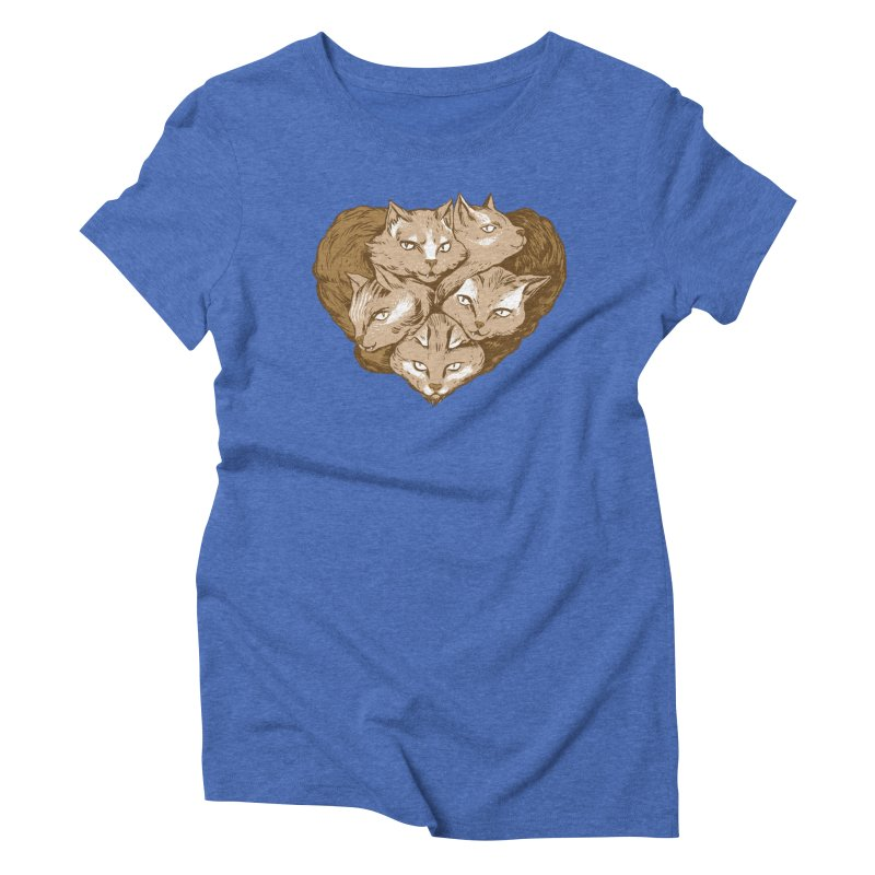 RETIRING!! Love Snubs Women's Triblend T-shirt by Ming Doyle