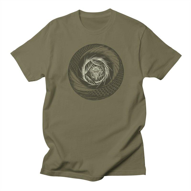RETIRING!! Snake Circle Men's T-shirt by Ming Doyle