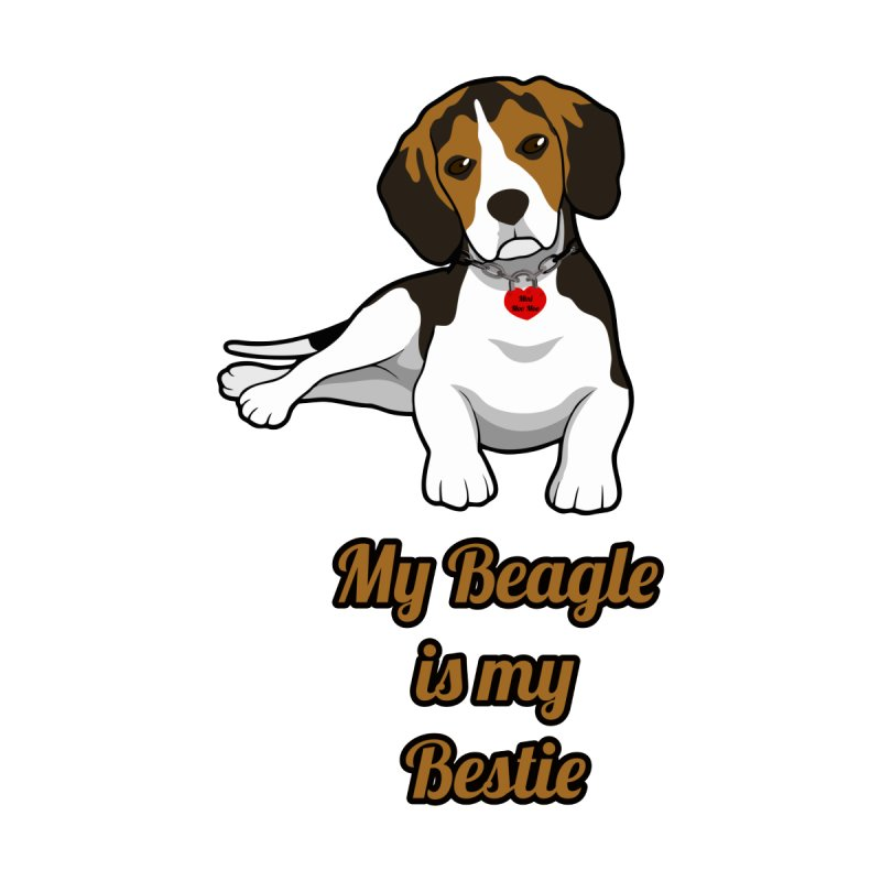 Beagle is my Bestie Men's T-shirt by Mini Moo Moo Clothing Company