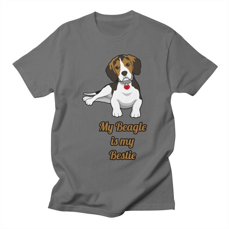 Beagle is my Bestie Women's T-Shirt by Mini Moo Moo Clothing Company