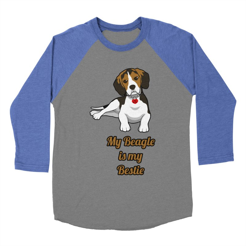 Beagle is my Bestie Women's Longsleeve T-Shirt by Mini Moo Moo Clothing Company