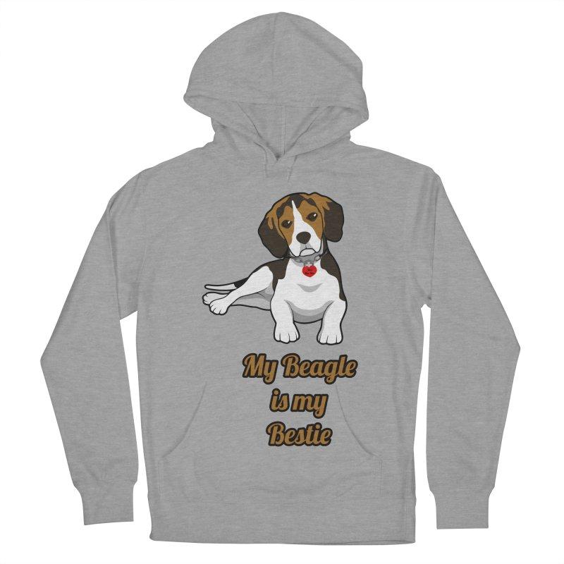 Beagle is my Bestie Women's Pullover Hoody by Mini Moo Moo Clothing Company