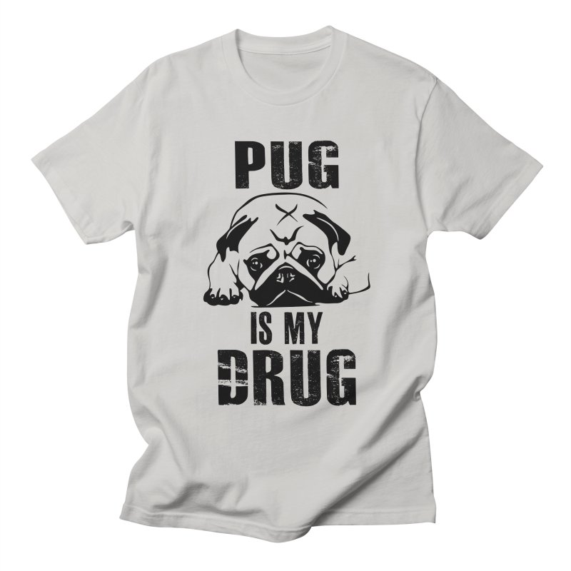 Pug is my Drug Men's T-Shirt by Mini Moo Moo Clothing Company