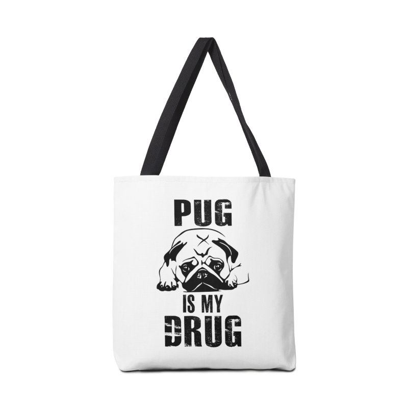 Pug is my Drug Accessories Bag by Mini Moo Moo Clothing Company