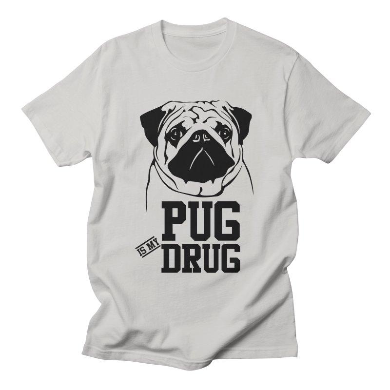 Pug is my Drug Again Women's T-Shirt by Mini Moo Moo Clothing Company