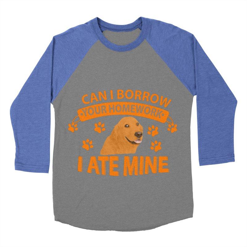Homework snacking Women's Longsleeve T-Shirt by Mini Moo Moo Clothing Company