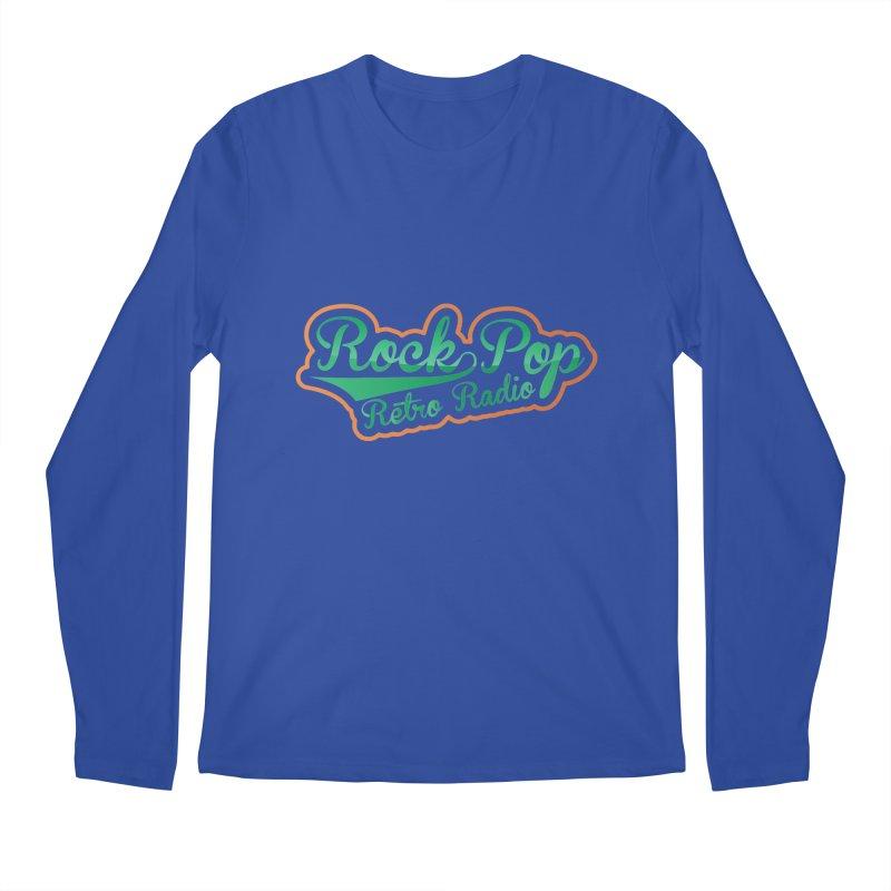 Rock Pop Retro Radio Men's Regular Longsleeve T-Shirt by Mini Moo Moo Clothing Company