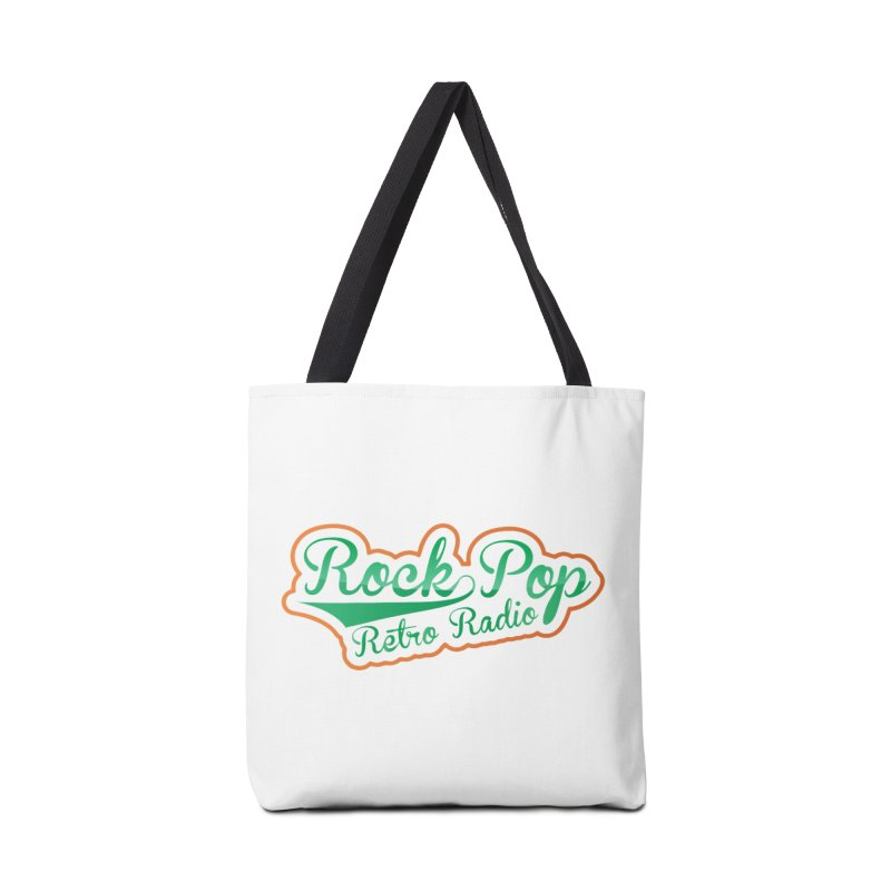 Rock Pop Retro Radio Accessories Tote Bag Bag by Mini Moo Moo Clothing Company