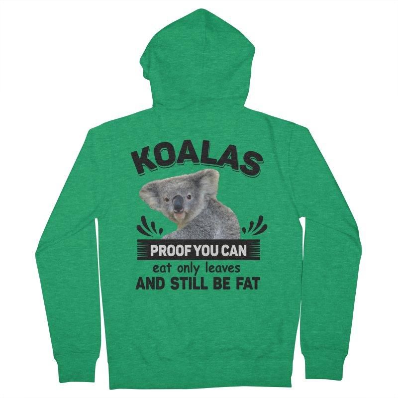 Koala Proof Women's Zip-Up Hoody by Mini Moo Moo Clothing Company