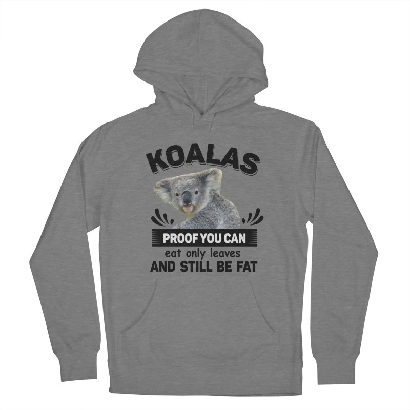 Koala Proof Women's Pullover Hoody by Mini Moo Moo Clothing Company