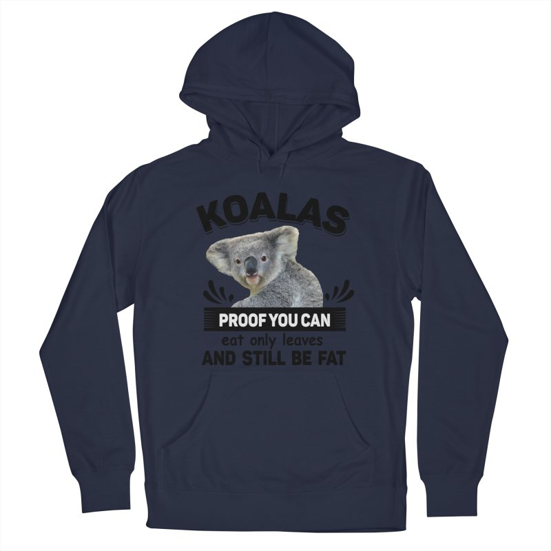 Koala Proof Men's Pullover Hoody by Mini Moo Moo Clothing Company