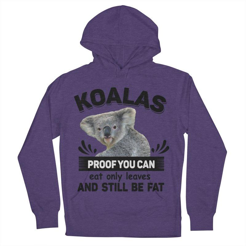 Koala Proof Women's French Terry Pullover Hoody by Mini Moo Moo Clothing Company