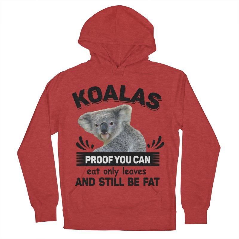 Koala Proof Men's Pullover Hoody by Mini Moo Moo Clothing Company