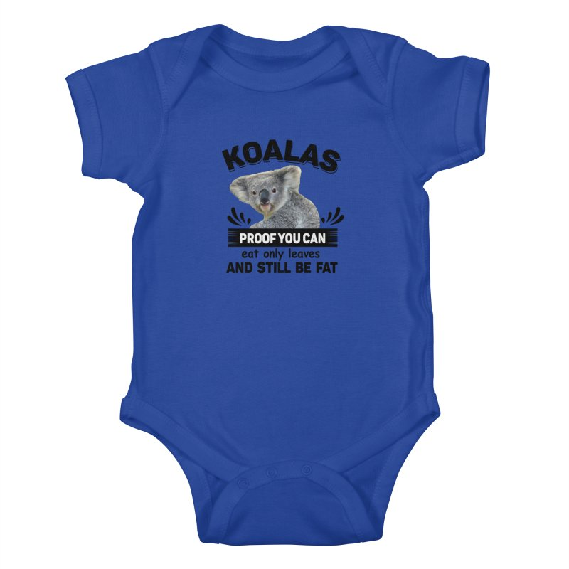 Koala Proof Kids Baby Bodysuit by Mini Moo Moo Clothing Company