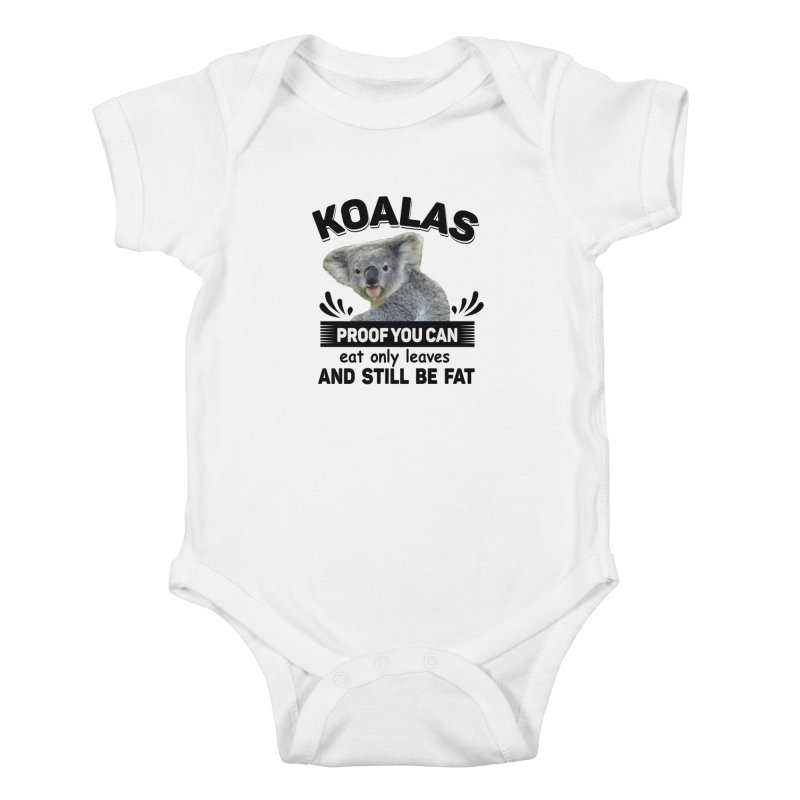 Koala Proof Kids Baby Bodysuit by Mini Moo Moo Clothing Company