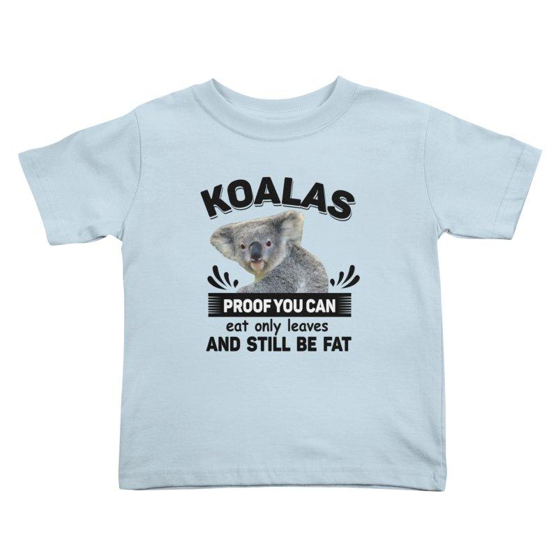 Koala Proof Kids Toddler T-Shirt by Mini Moo Moo Clothing Company