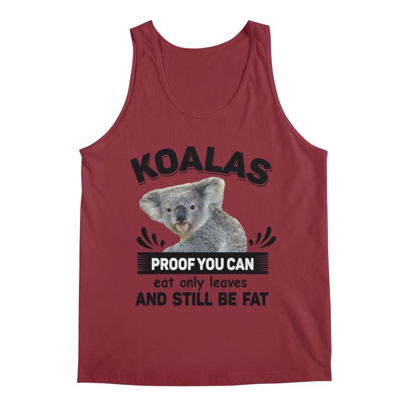 Koala Proof Men's Tank by Mini Moo Moo Clothing Company