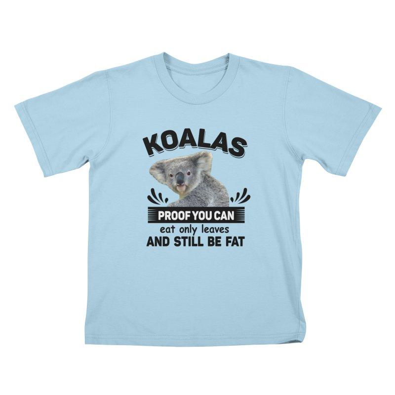 Koala Proof Kids T-Shirt by Mini Moo Moo Clothing Company