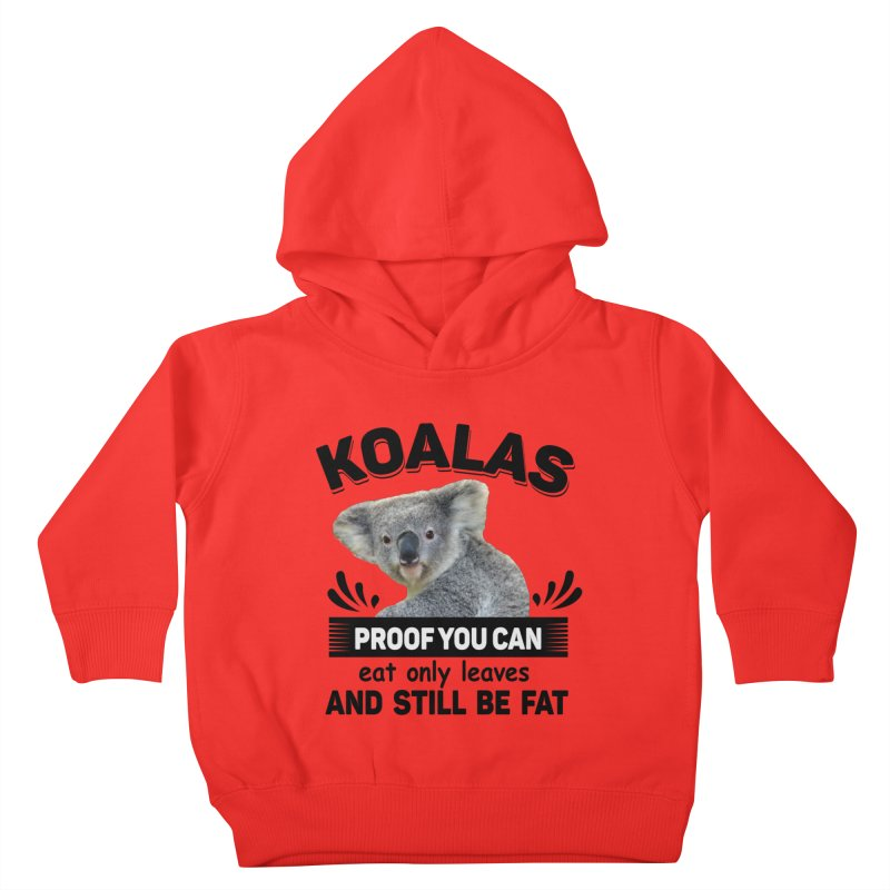 Koala Proof Kids Toddler Pullover Hoody by Mini Moo Moo Clothing Company
