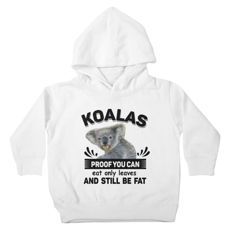 Koala Proof Kids Toddler Pullover Hoody by Mini Moo Moo Clothing Company
