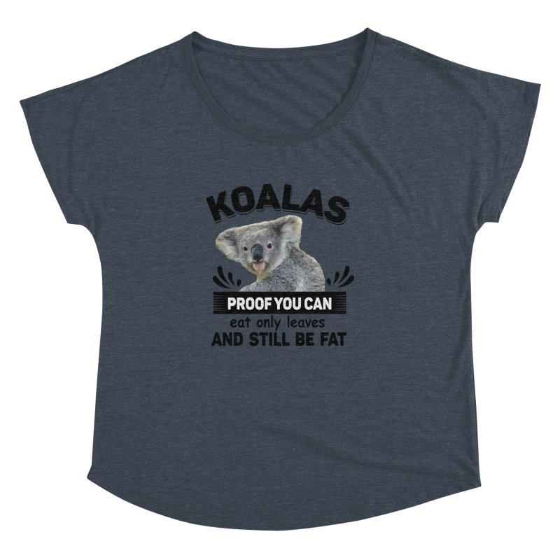 Koala Proof Women's Dolman by Mini Moo Moo Clothing Company