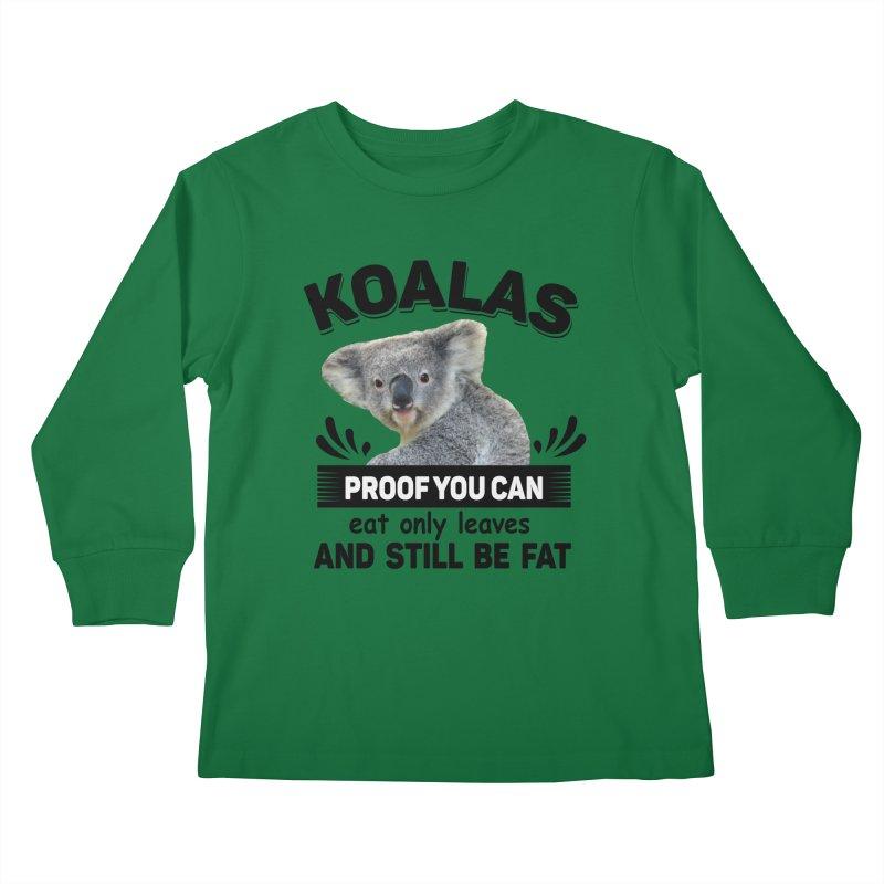 Koala Proof Kids Longsleeve T-Shirt by Mini Moo Moo Clothing Company