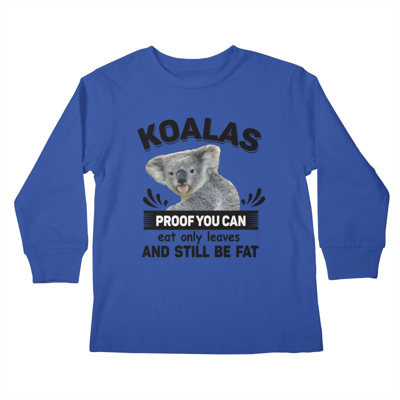 Koala Proof Kids Longsleeve T-Shirt by Mini Moo Moo Clothing Company