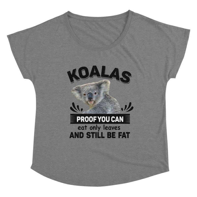 Koala Proof Women's Scoop Neck by Mini Moo Moo Clothing Company