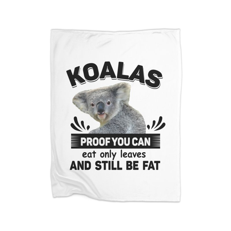Koala Proof Home Blanket by Mini Moo Moo Clothing Company