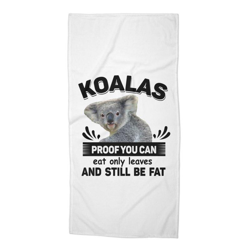 Koala Proof Accessories Beach Towel by Mini Moo Moo Clothing Company