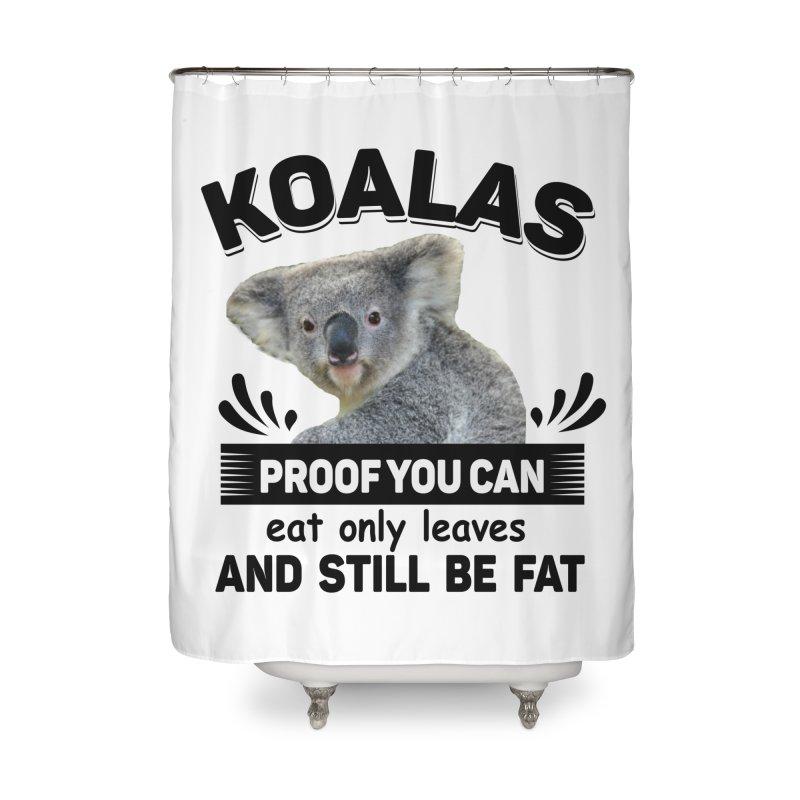 Koala Proof Home Shower Curtain by Mini Moo Moo Clothing Company