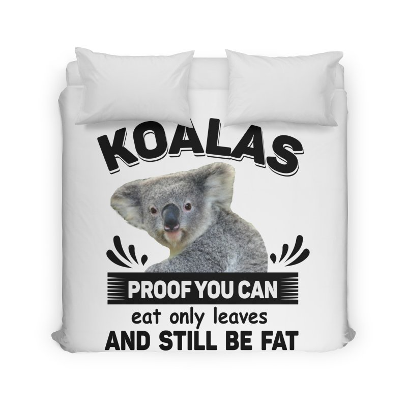 Koala Proof Home Duvet by Mini Moo Moo Clothing Company